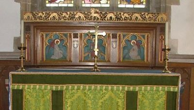 Holy Rood Wool - Reredos