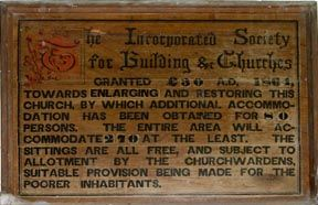Building Soc Plaque