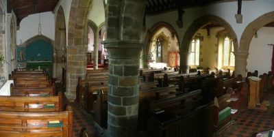 Holy Rood Interior looking east